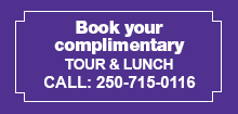 Complementary Tour and Lunch - Sherwood House, Duncan BC