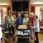 Celebrating birthdays at the Sherwood House