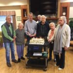 Birthday celebrations with a few of our residents